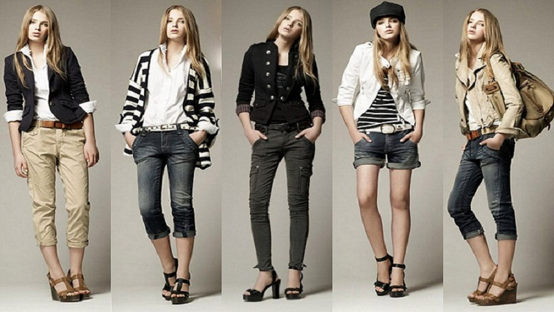 Keep changing your dressing style
