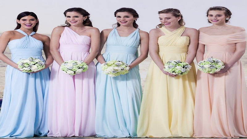 Opt for light colors dress