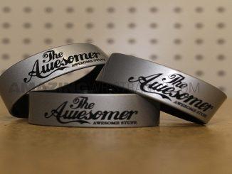 Silver wrist band
